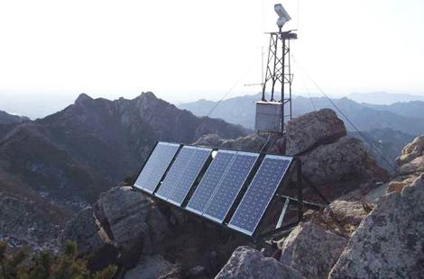 华通远航 油田油井视频远程无线监控太阳能供电系统