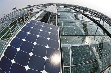 【百科知识】怎样将太阳能发电系统应用在农业大棚上