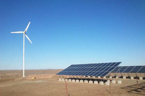 华通远航告诉您,风光互补发电系统的技术路线及项目应用范围