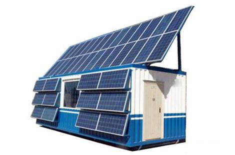 号外号外! 集装箱太阳能供电一体化产品顺利完成!