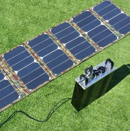 折叠式可移动充电电源