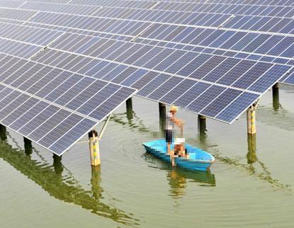 渔光互补供电系统