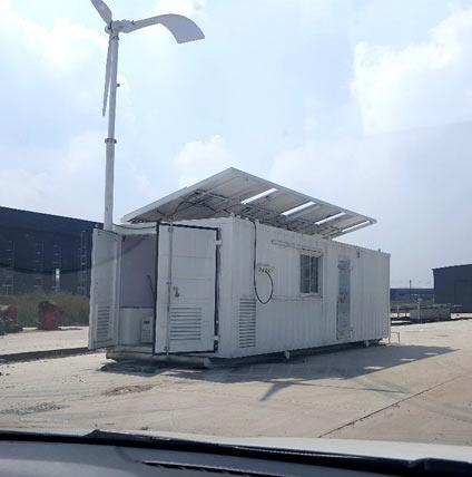 太阳能风光柴供电