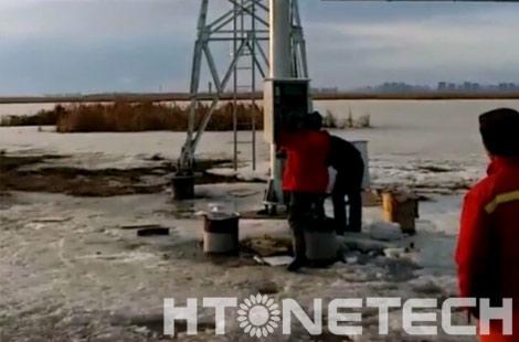 【华通远航】大庆湿地项目风光互补供电系统指导安装