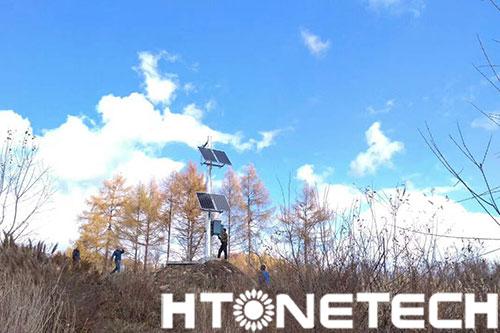 太阳能森林防火宣传设备,森林防火、人人有责!
