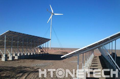 野外监控供电方案,少不了华通远航风光互补供电