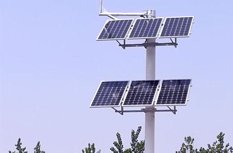 【武汉智能交通】华通远航太阳能供电系统顺利安装