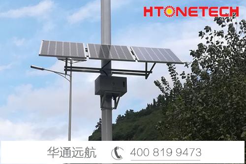 【华通远航】光伏发电,完美解决惠州应急车道监控难题