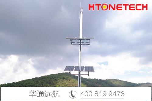 临沧机场使用【华通远航】太阳能供电监控