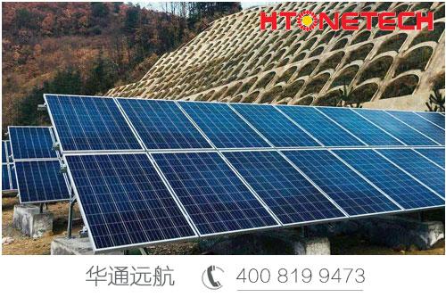 户外监控如何供电?还是选华通远航太阳能监控供电