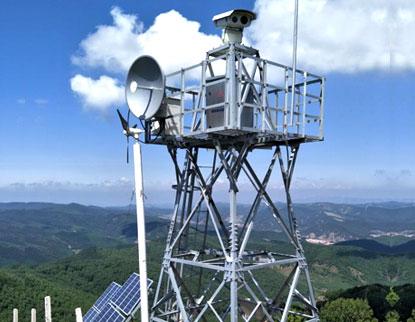 风光互补森林防火监控系统
