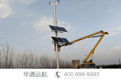 山东省高速公路上的超级太阳能供电项目