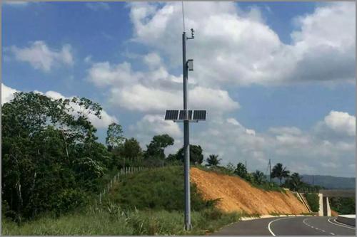 牙买加南北高速公路太阳能供电系统——华通远航