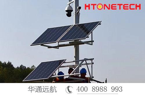 生态文明建设之湖北竹溪龙湖湿地公园全域智能监控供电