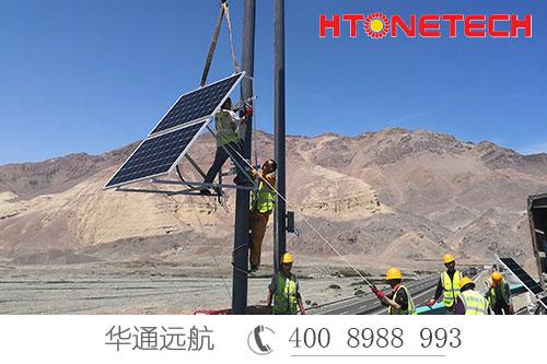 新疆境内小草湖至乌鲁木齐段改扩建太阳能供电项目竣工