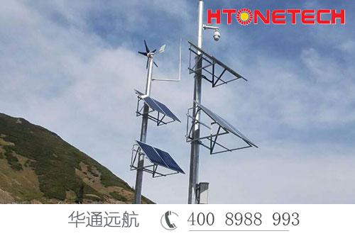 西气东输项目管道监控供电选华通远航