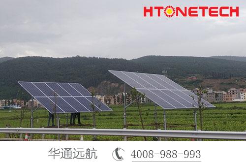 太阳能监控系统发电原理,直流、交流用电方便