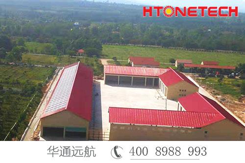 【华通远航】中国援柬埔寨陆军学院3811工程竣工交接仪式顺利举行