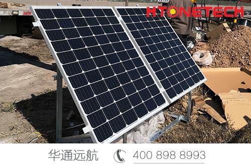 【华通远航】青岛二期高速公路监控太阳能供电项目