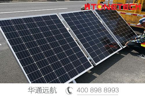 【华通远航】青岛三期高速公路太阳能监控系统解决方案