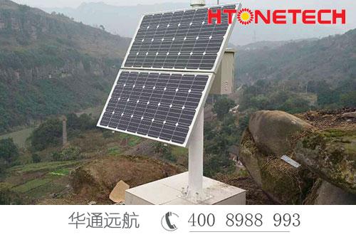 监控水土位移,洪涝灾害北斗导航也用太阳能发电系统