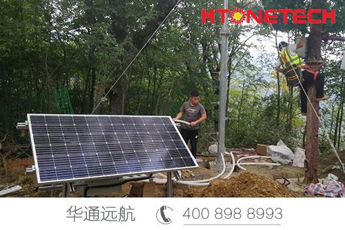 【华通远航】2020年甘肃陇南森林防火供电顺利完工!