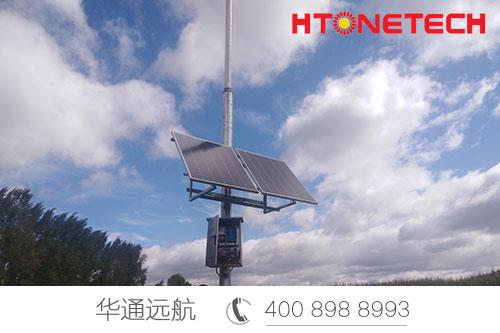 智慧农业 | 华通远航北兴农场太阳能监控供电项目!