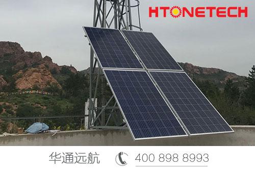 祝贺:华通远航红山遗址风光互补监控供电项目顺利完工!