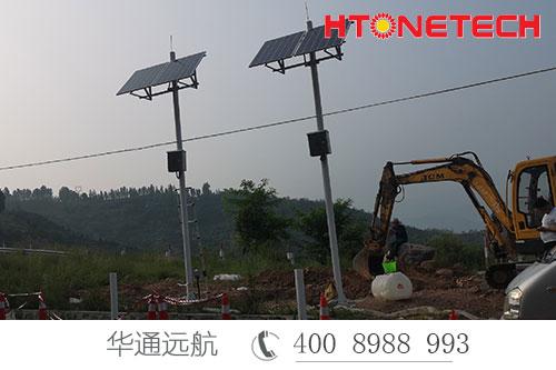 高速外场监控供电选华通远航太阳能供电系统