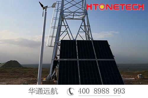 风光互补监控供电稳定输出持续24小时