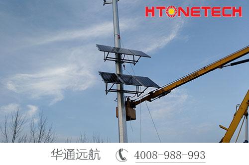 监控供电系统低成本投入免维护,独立供电稳定