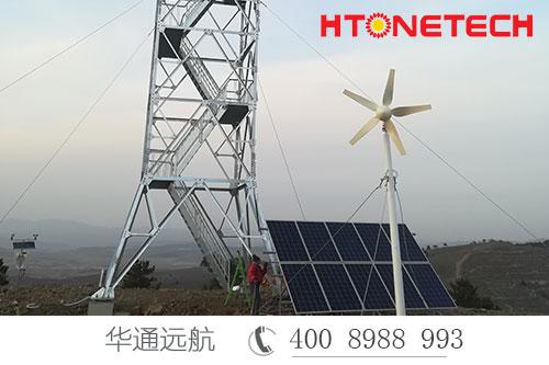 森林防火监控供电选用风光互补取之自然,用之于自然