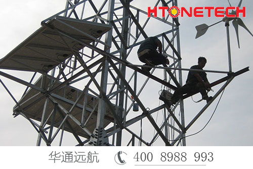 独立发电肱股之臣助力通讯基站——风光互补发电