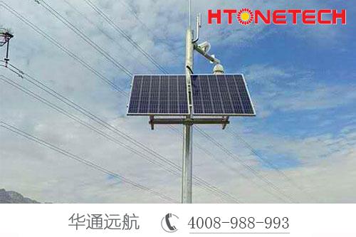 监控太阳能供电得道推崇源于无线