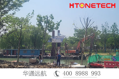【华通远航】献礼百年建党——为浙江嘉兴南湖生态环境修复工程助力