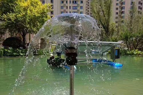 华通远航太阳能供电设备为城市景观喷泉设计增添绿色能源