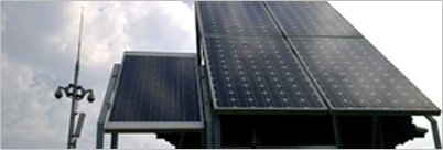 视频远程无线监控太阳能供电系统