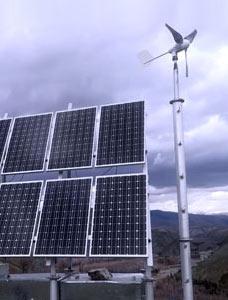 边防监控太阳能供电