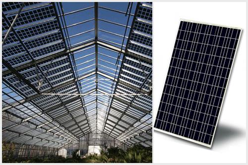 光伏温室太阳能电池板