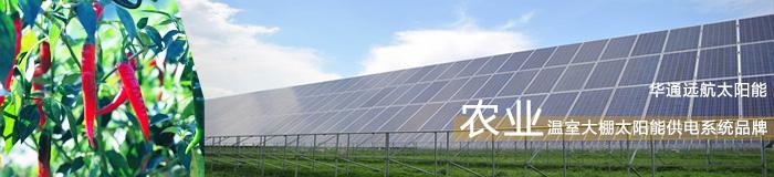 农业太阳能温室大棚供电系统