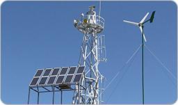 山洪灾害太阳能监控供电系统