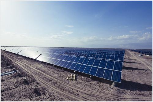 中国最大太阳能光伏电站