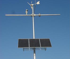 视频监控风光互补供电系统